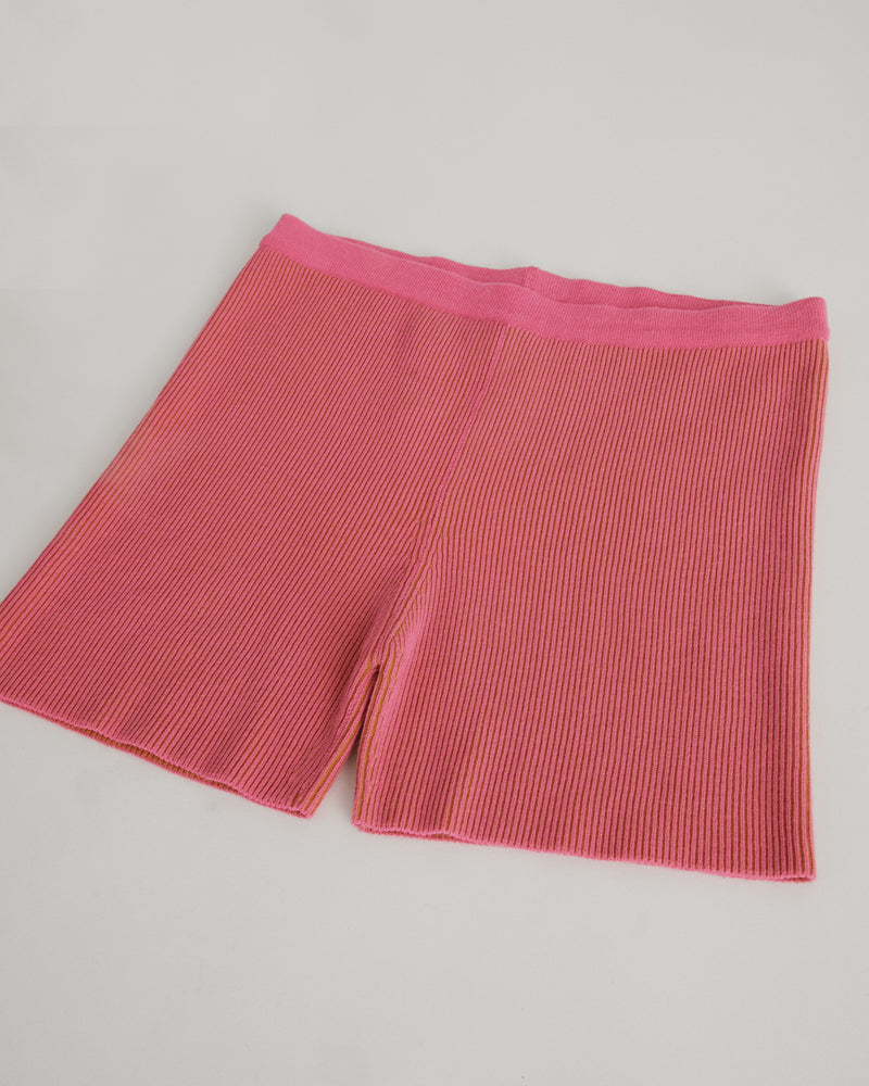 Le Short Arancia in Pink Striped