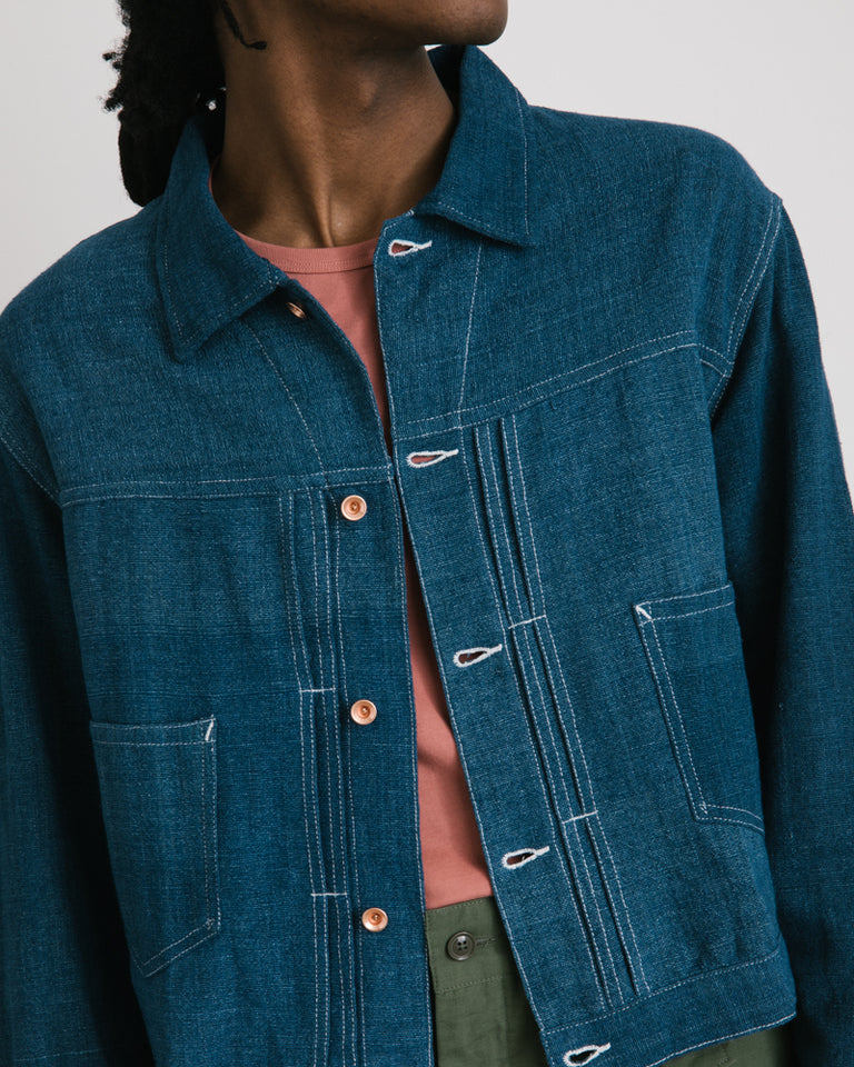 Sundae Jacket in Indigo
