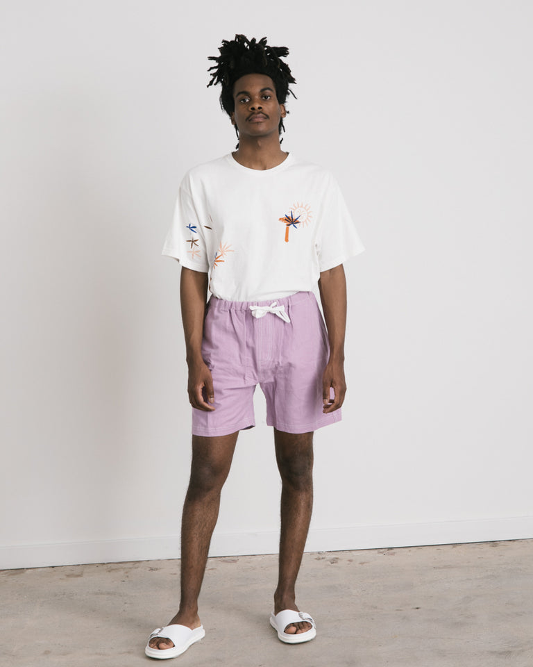 Easy Shorts in Lilac