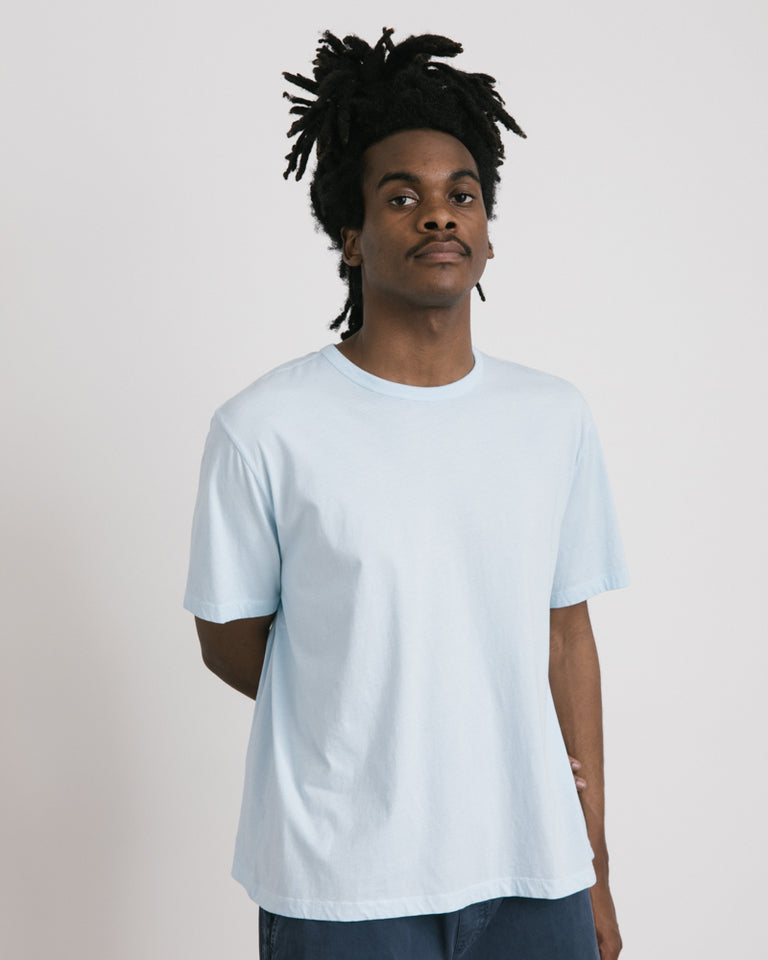 New Box T-Shirt in Baby Blue