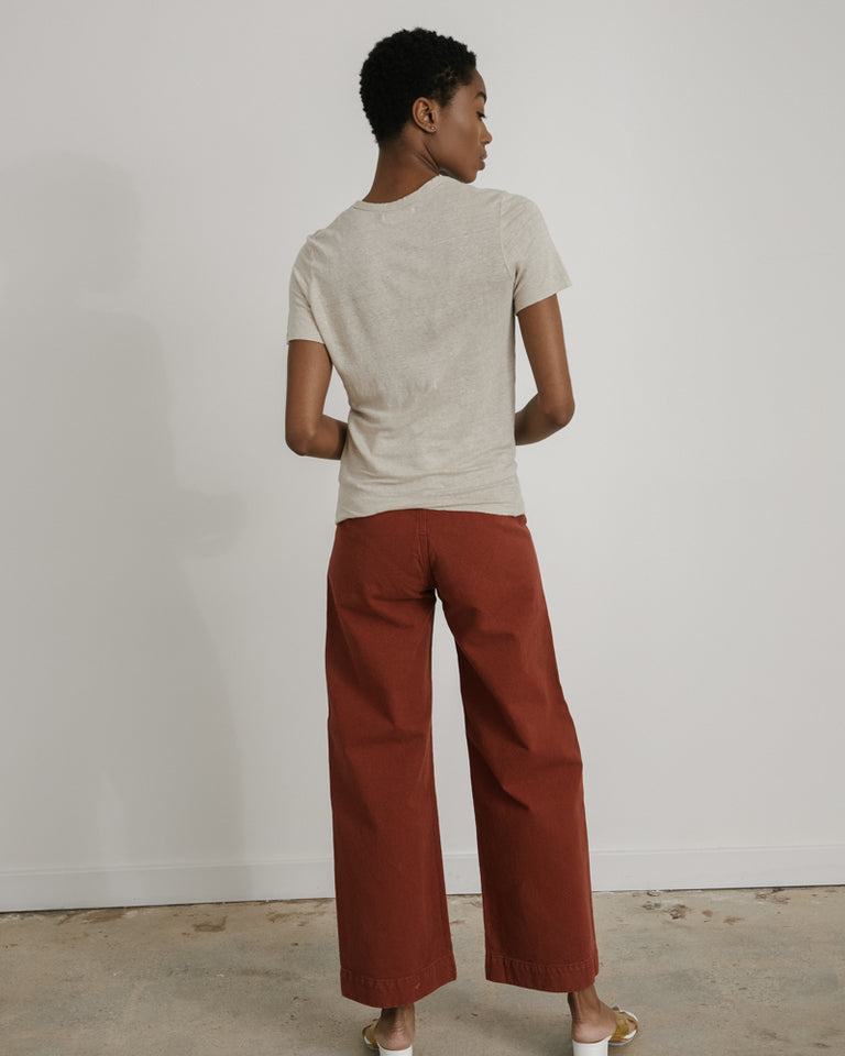 Sailor Pant in Iron Oxide