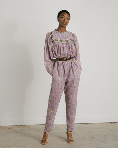 Vasco Overall in Lilac