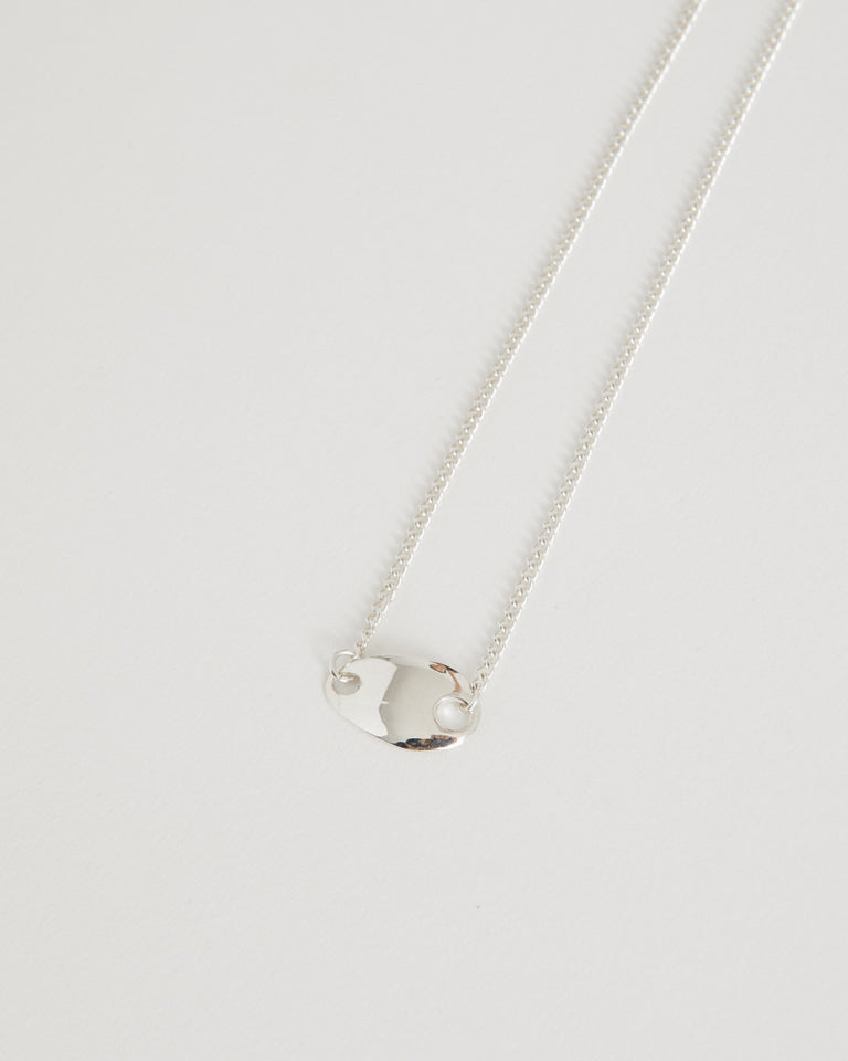 ID No.2 Necklace in Sterling Silver