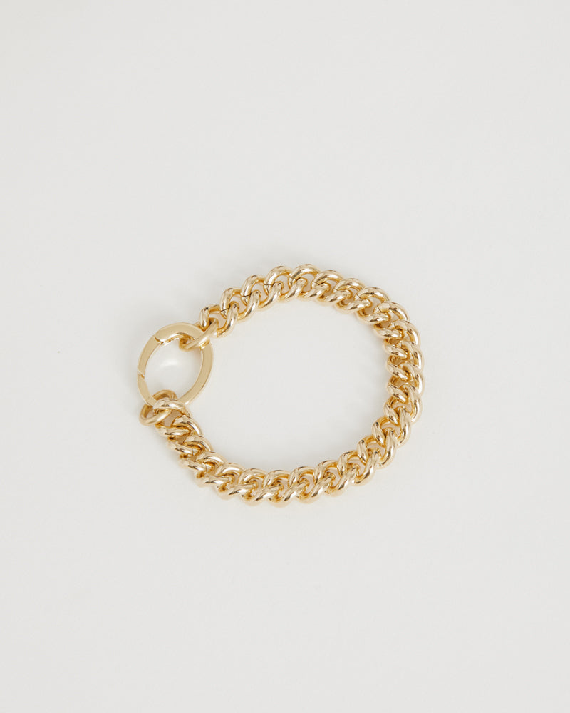 Presa Bracelet in Brass