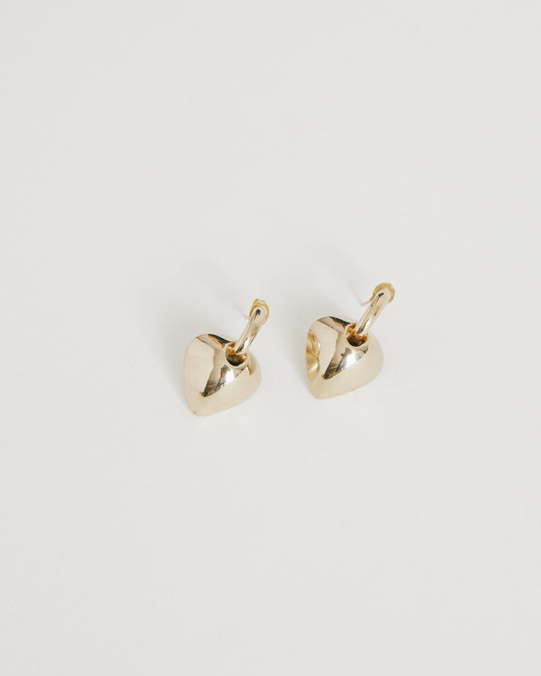 Caterina Earrings in Brass