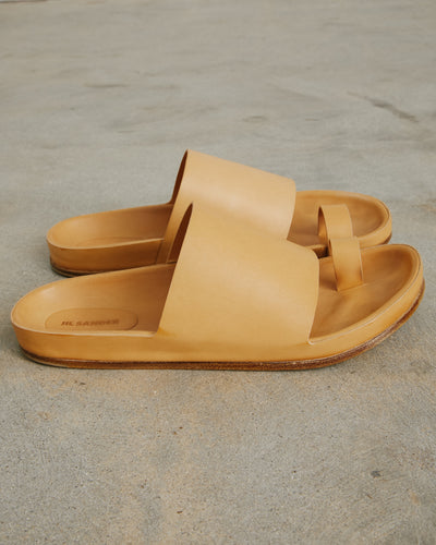 Sandal in Open Brown