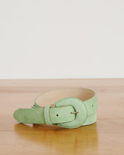Bruno Belt in Lime