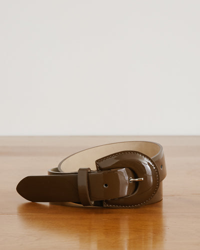 Bruno Belt in Carob
