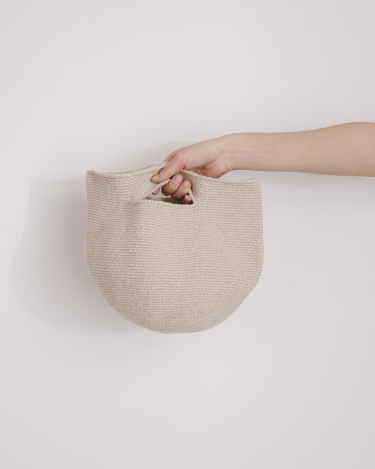 Baby Bowl Bag in Natural