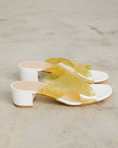 Lauren Slide in Golden Marble