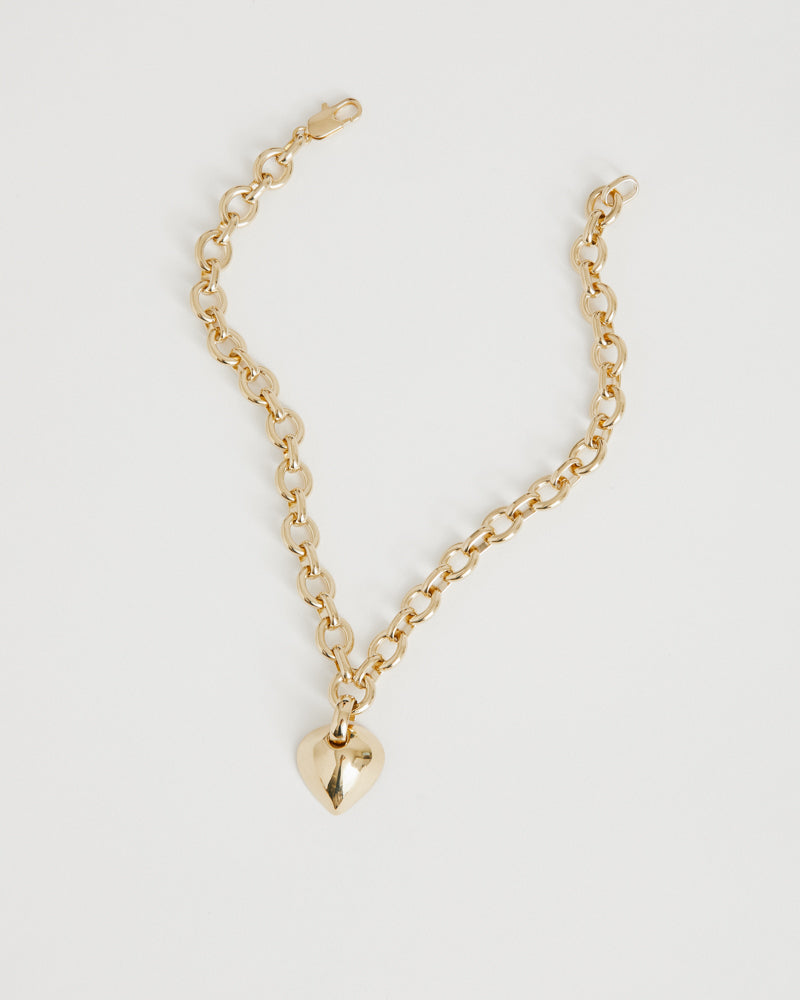 Luisa Necklace in 14K Plated