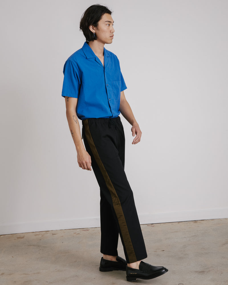 Perkino Tape Pants in Black