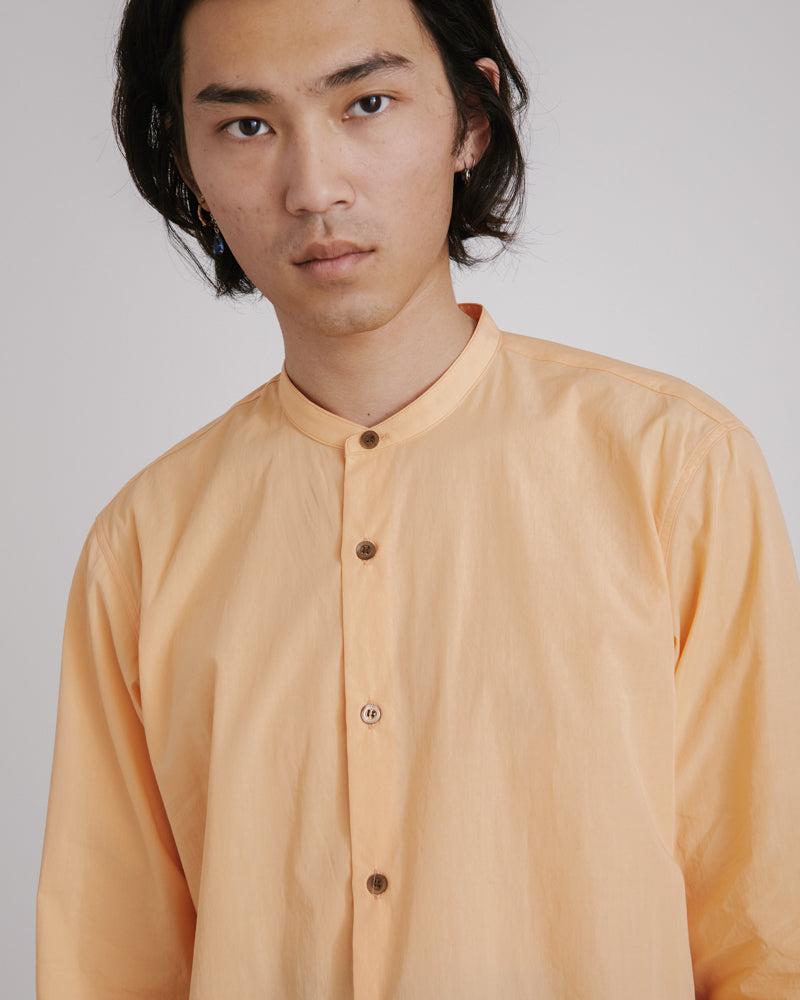 Claver Shirt in Peach