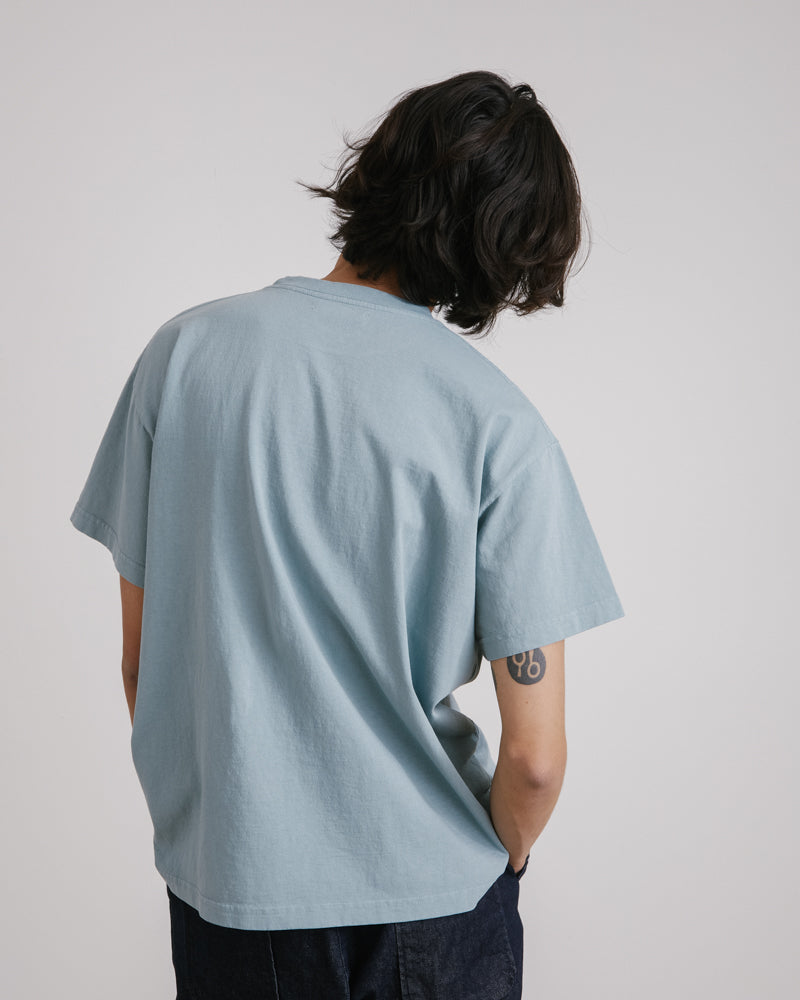 Big Pocket Tee in Sage