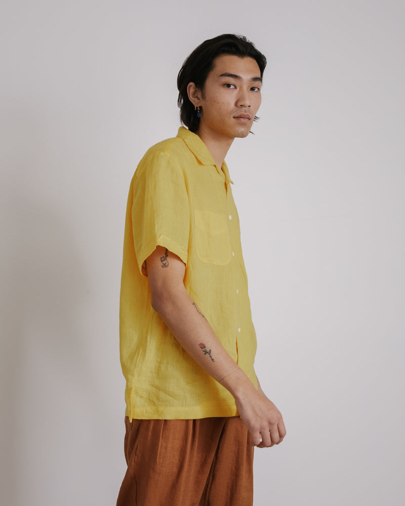 Vacation Shirt in Yellow