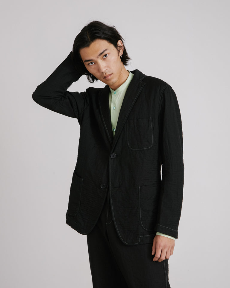 DF Plant Jacket in Black