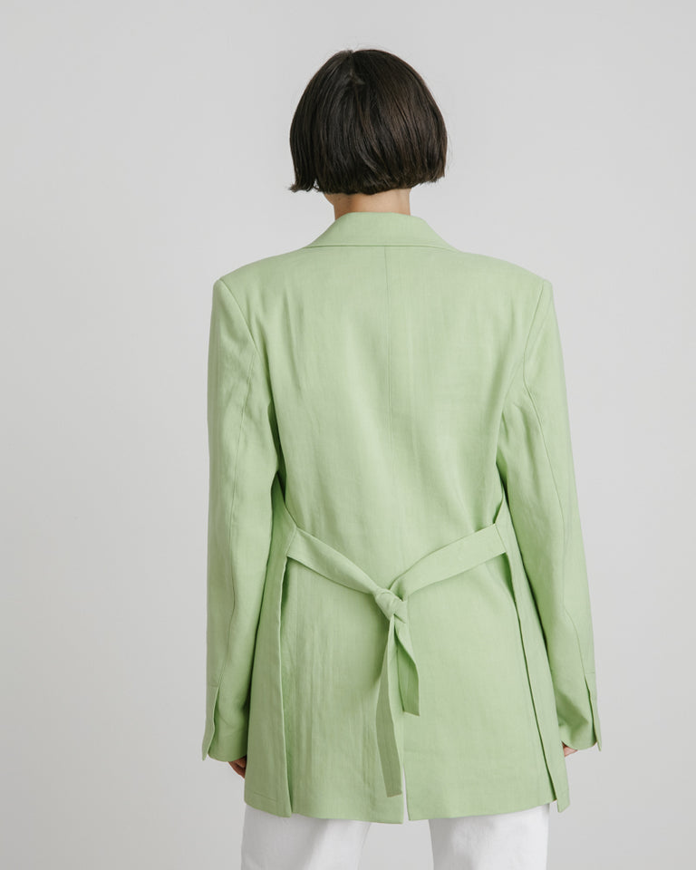 La Veste Tablier in Green