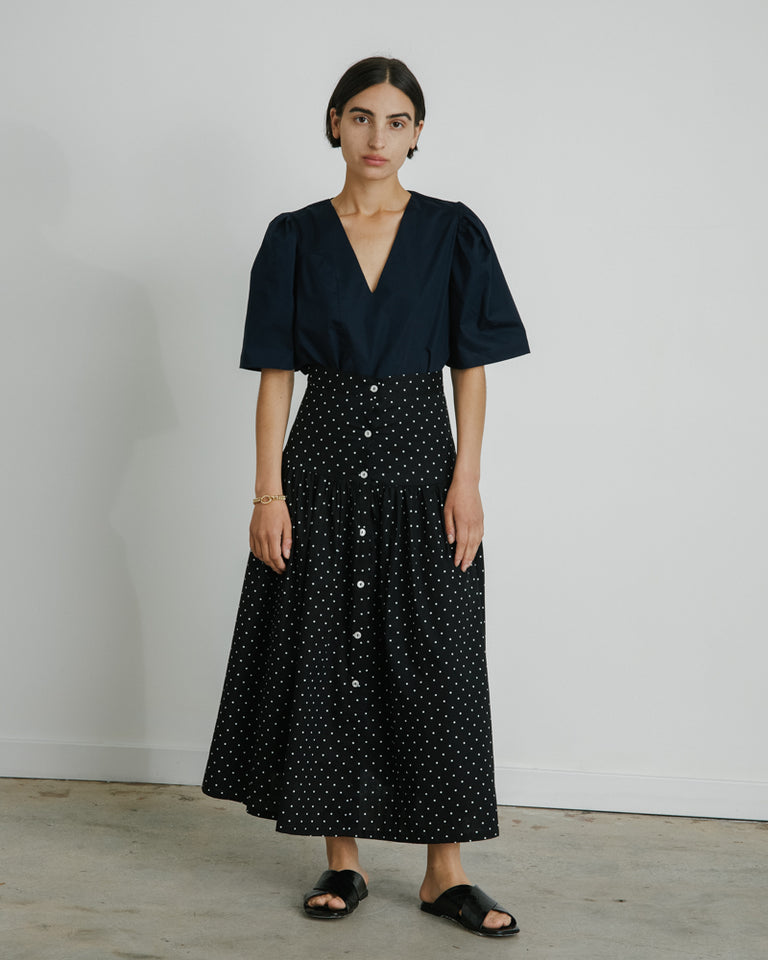 Parker Skirt in Polka Dot