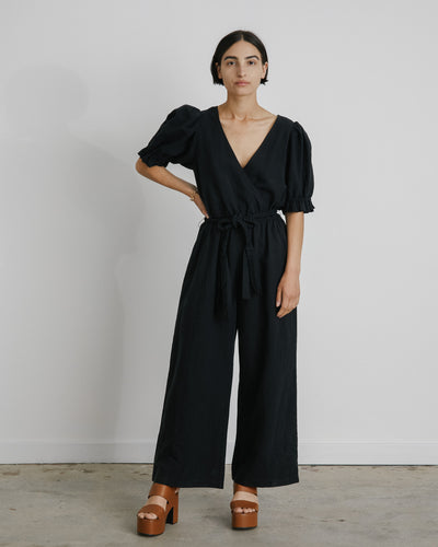 Chabrol Jumpsuit in Black