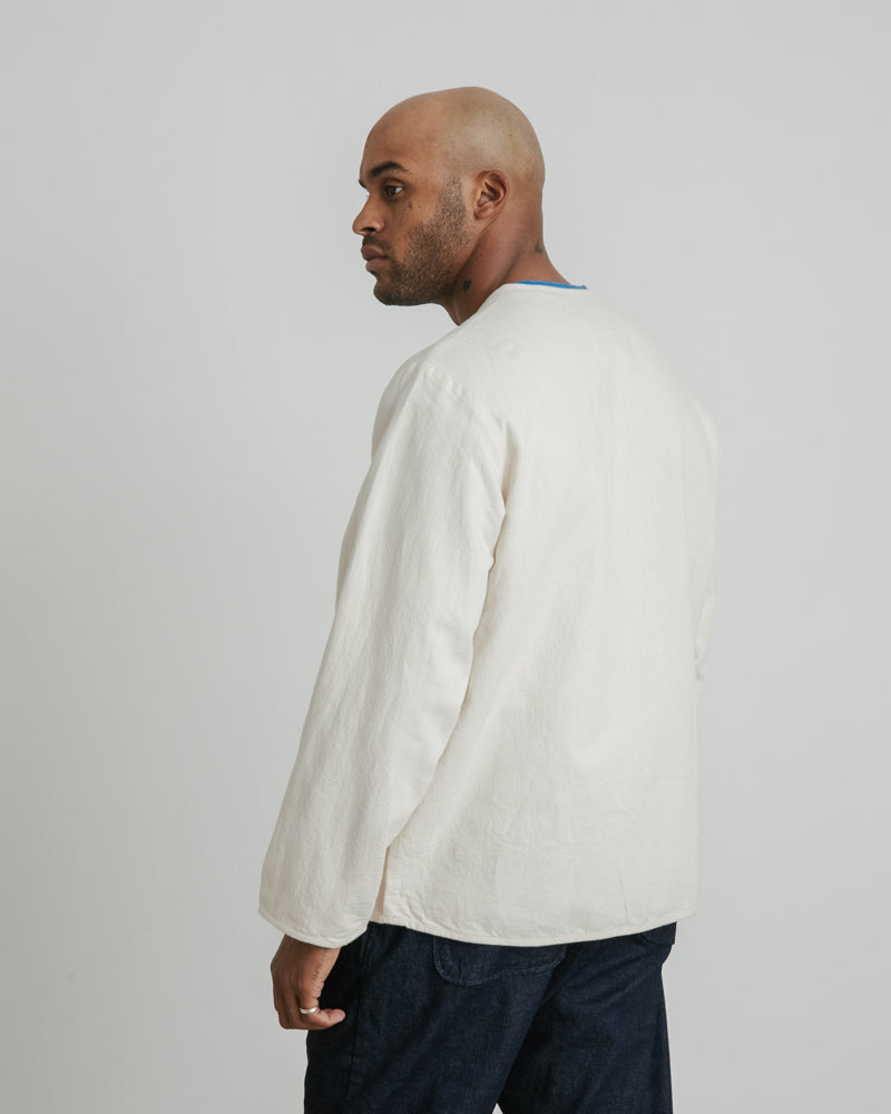 Liner Jacket in Ecru