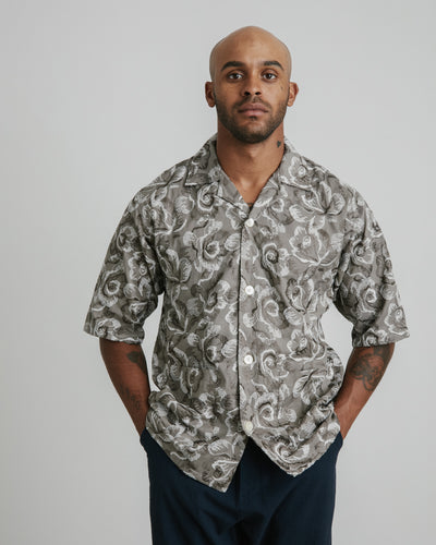 Cabana Shirt in Grey