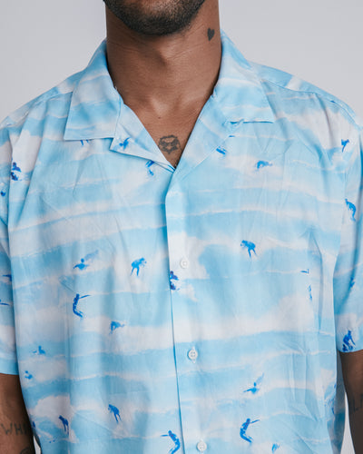 Camp Shirt in Sky Blue