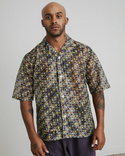 Cabana Shirt in Brown