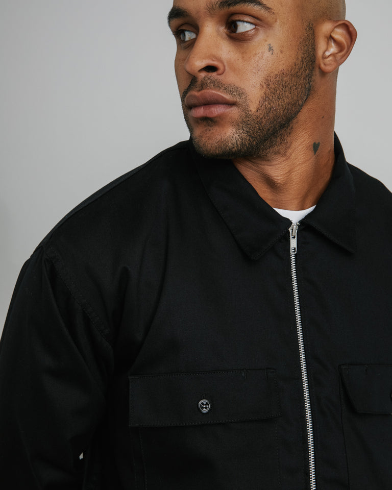 Station Jacket in Black
