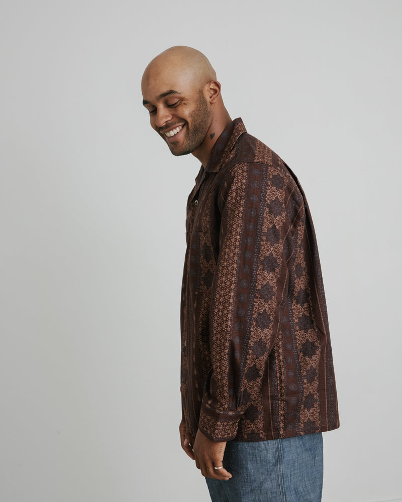 One Up Shirt in Brown