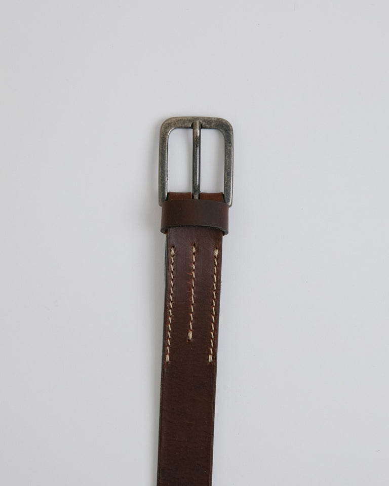 Everyday Belt in Dark Brown