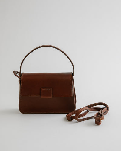 Mini Estel Bag in Saddle Brown