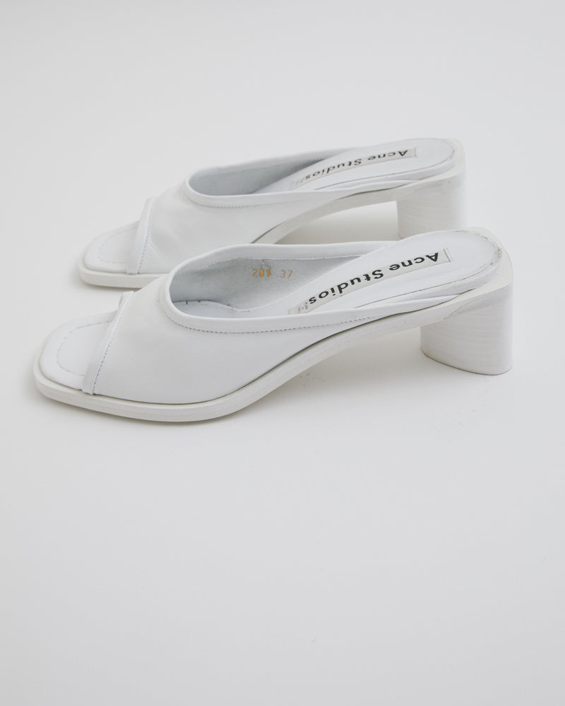 Bessy Shoe in White