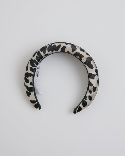 Headband in Leopard