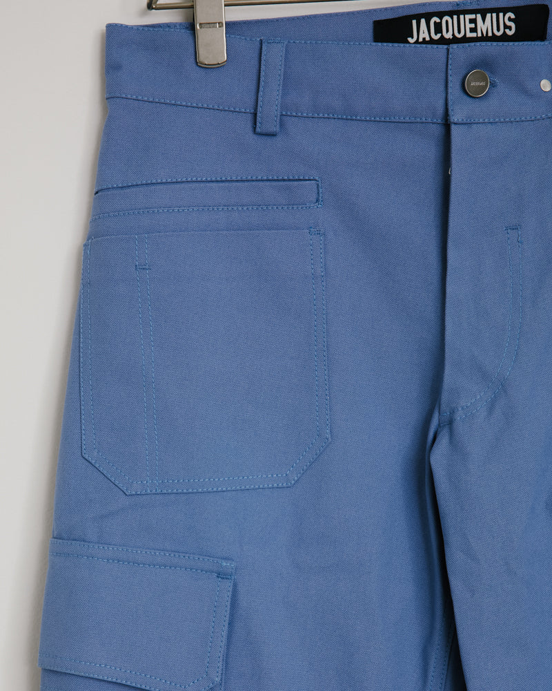 Le Pantalon Cueillette in Blue