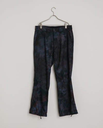 String Cuff Trouser in Tie Dye