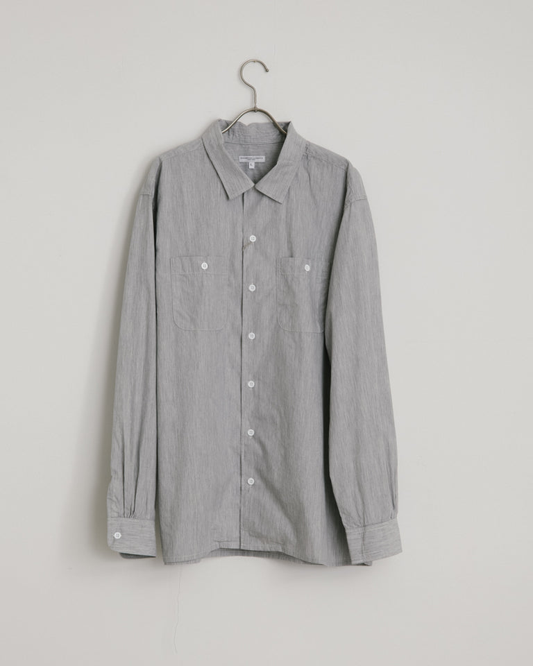 Classic Shirt in Silver