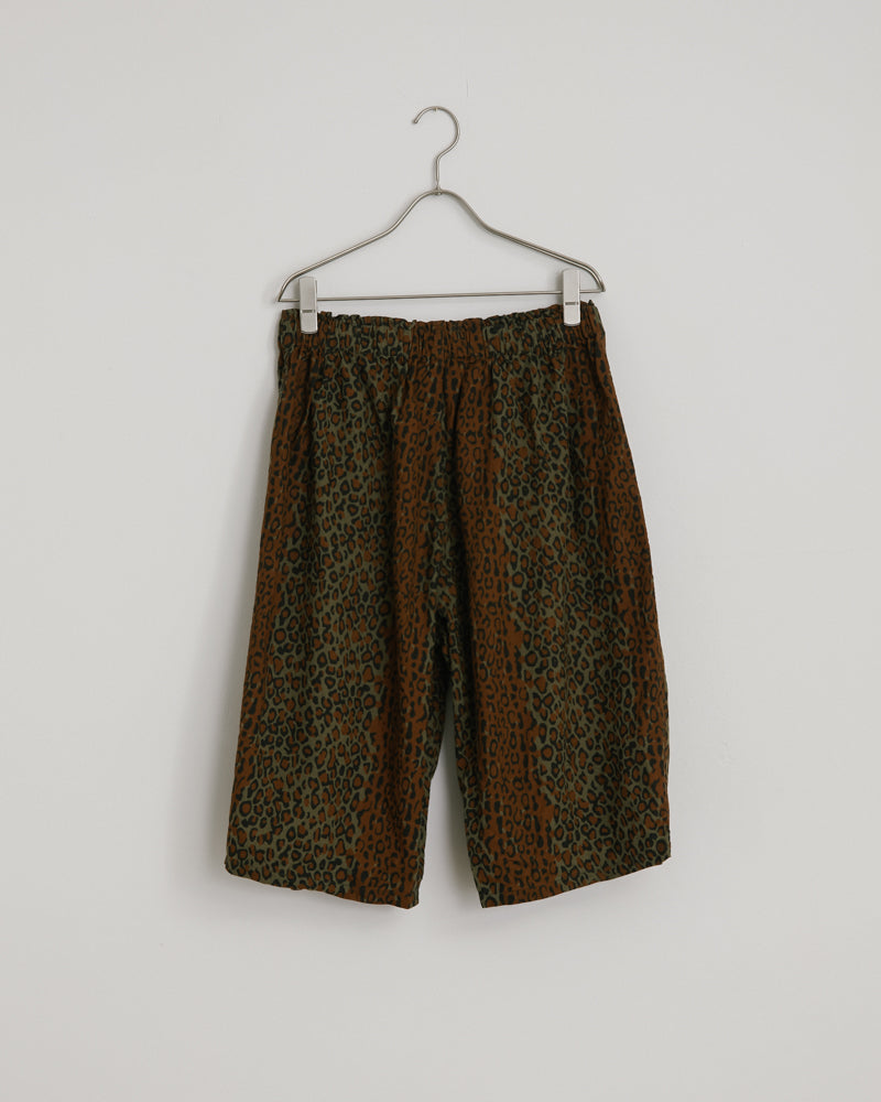 Army String Pant in Printed Flannel Camouflage