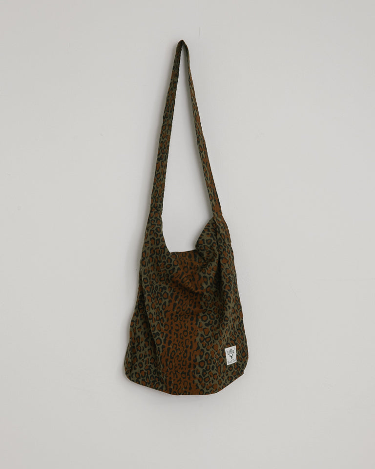 Book Bag in Leopard