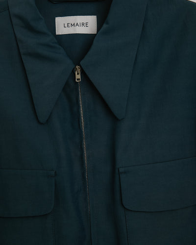 Light Blouson in Turquoise Grey