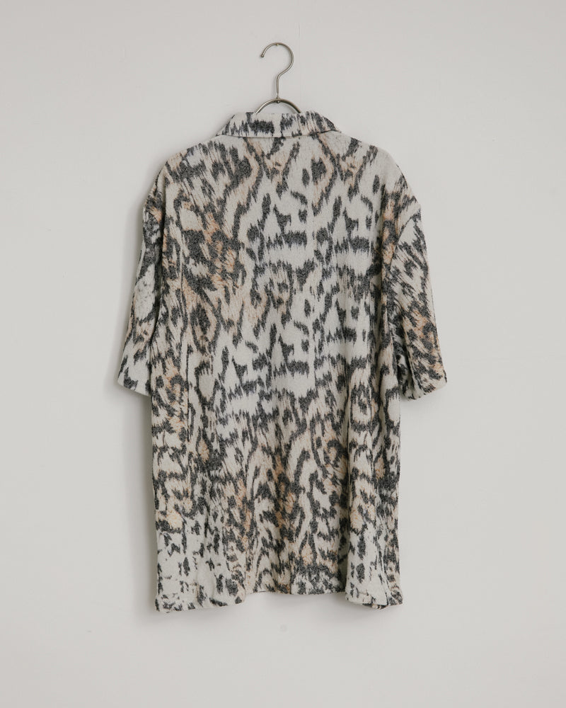 Box Shirt in Tiger Print