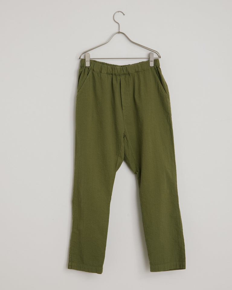 Seersucker Yoyogi Pant in Meadow