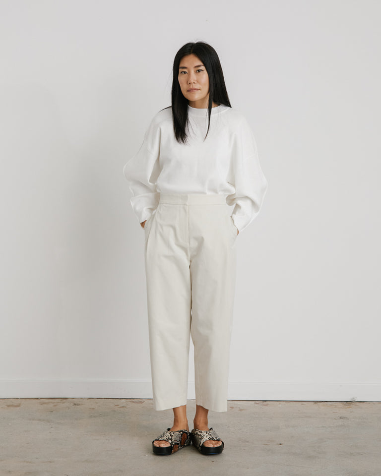 Garconne Pants in Cream