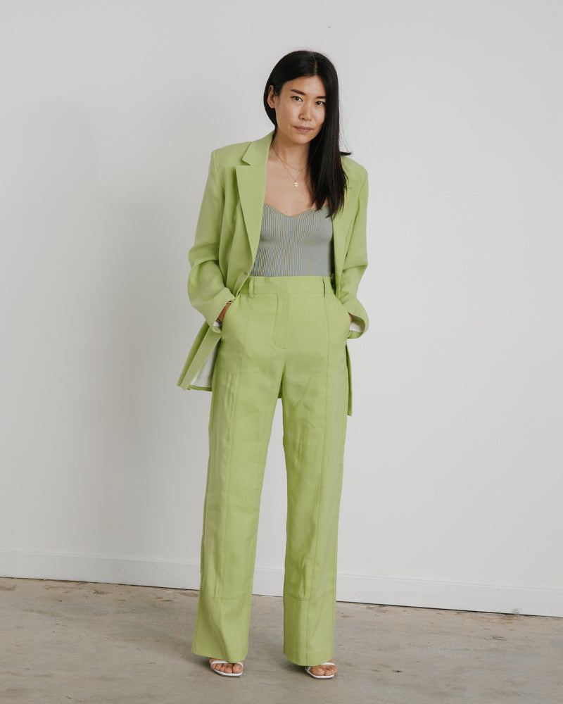 Le Pantalon Estero in Green