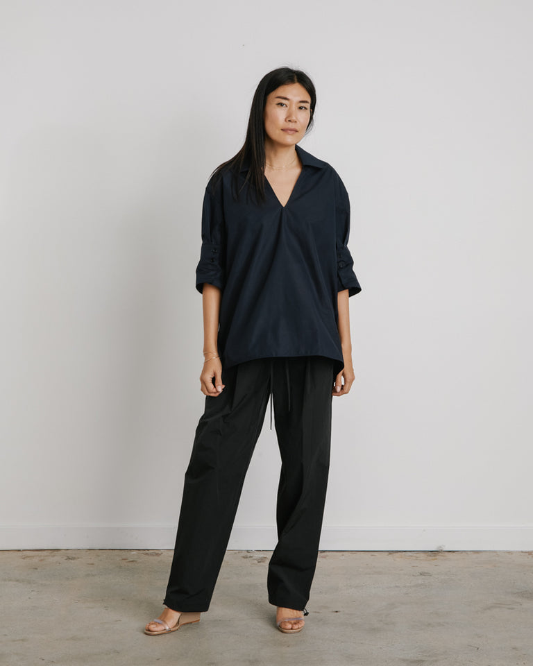 Magda Shirt in Blue Navy