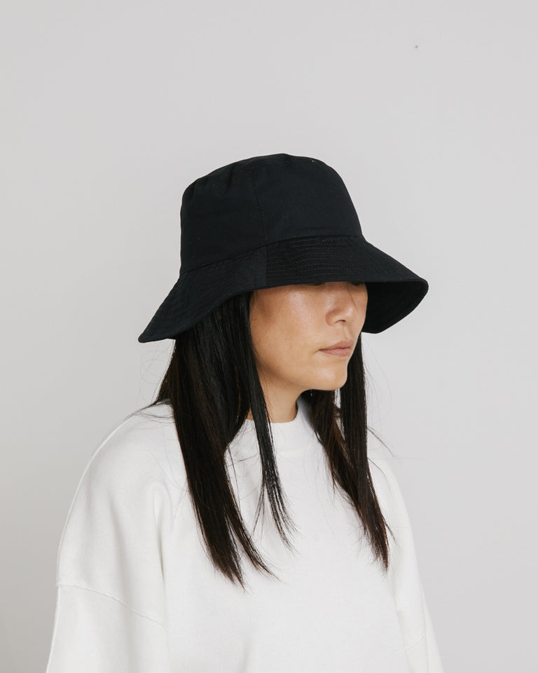 Ebi Bucket Hat in Black