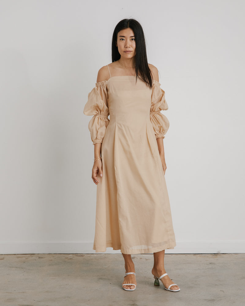 Lorna Dress in Taupe