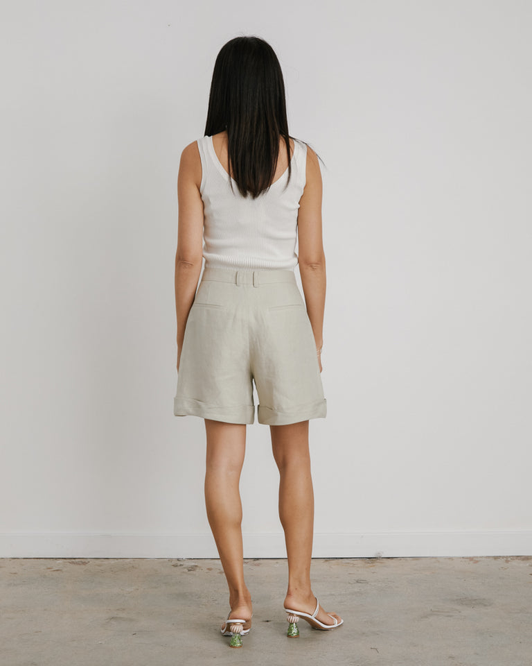 Oscar Shorts in Artichoke Green