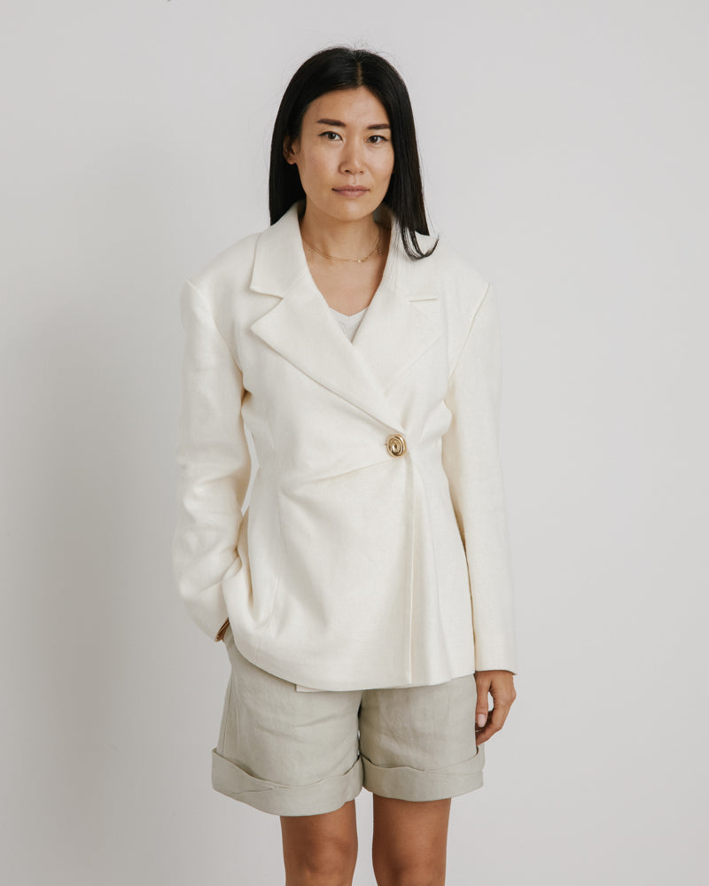 Jodie Jacket in Ivory