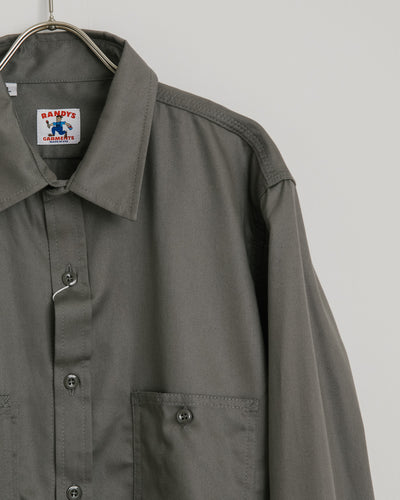 3-Pocket Work Shirt in Grey