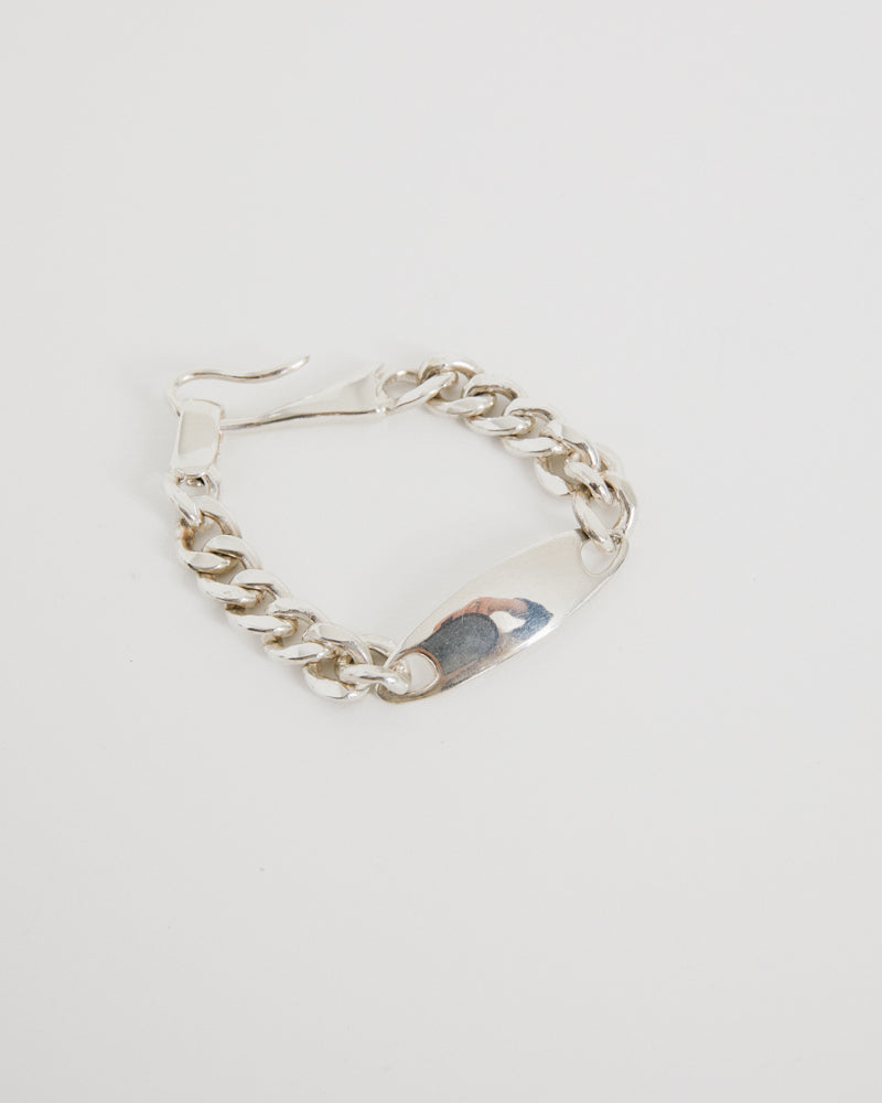 ID Bracelet in Sterling Silver